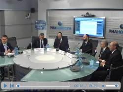 Видео из пресс-центра.  Проект помощи заключенным. Скриншот